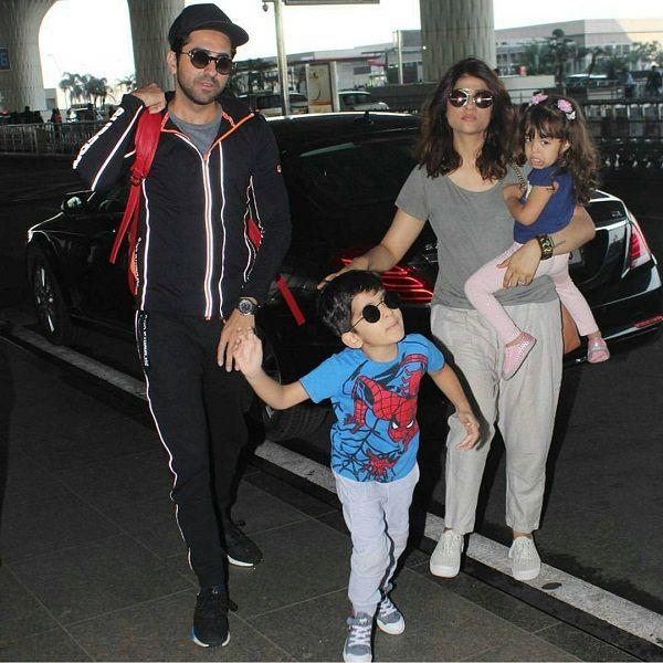 Ayushman-Khuranaa-with-his-wife-and-Kids