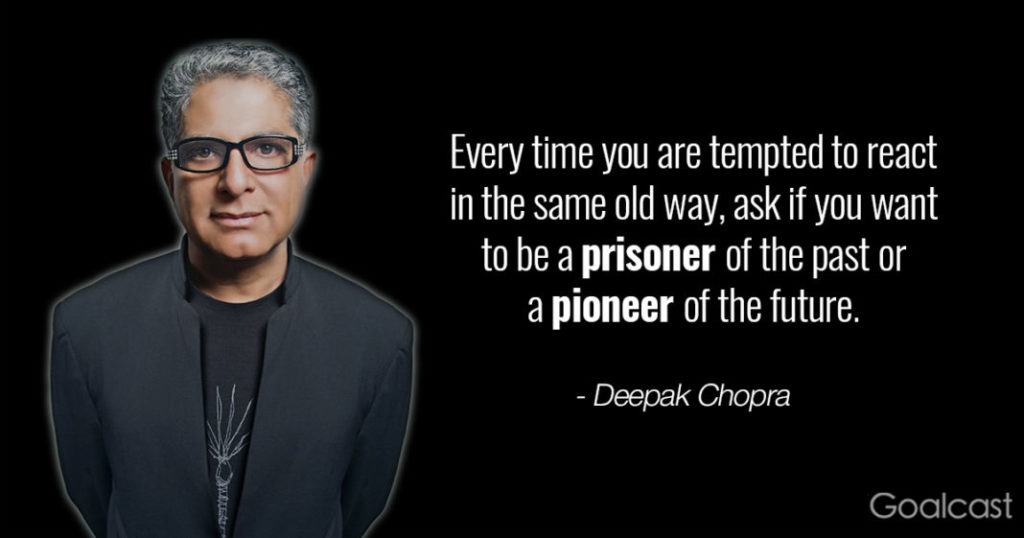 Living The Life You Want - Deepak Chopra