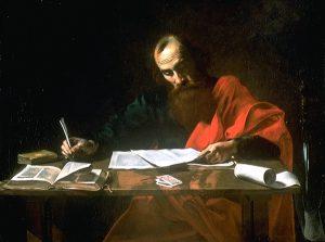 Saint_Paul_Writing_His_Epistles__by_Valentin_de_Boulogne