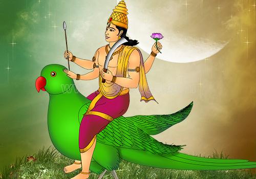 Kamadeva (Manmatha) - Hindu God of Love