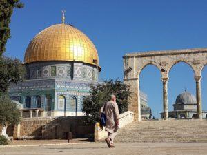 The Temple Mount plaza in Jerusalem