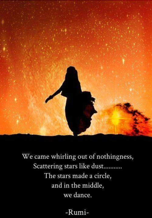 dancing between the stars