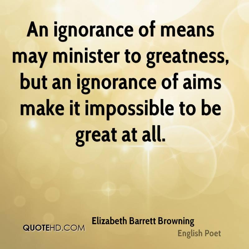 elizabeth barrett browning-poet an ignorance of means