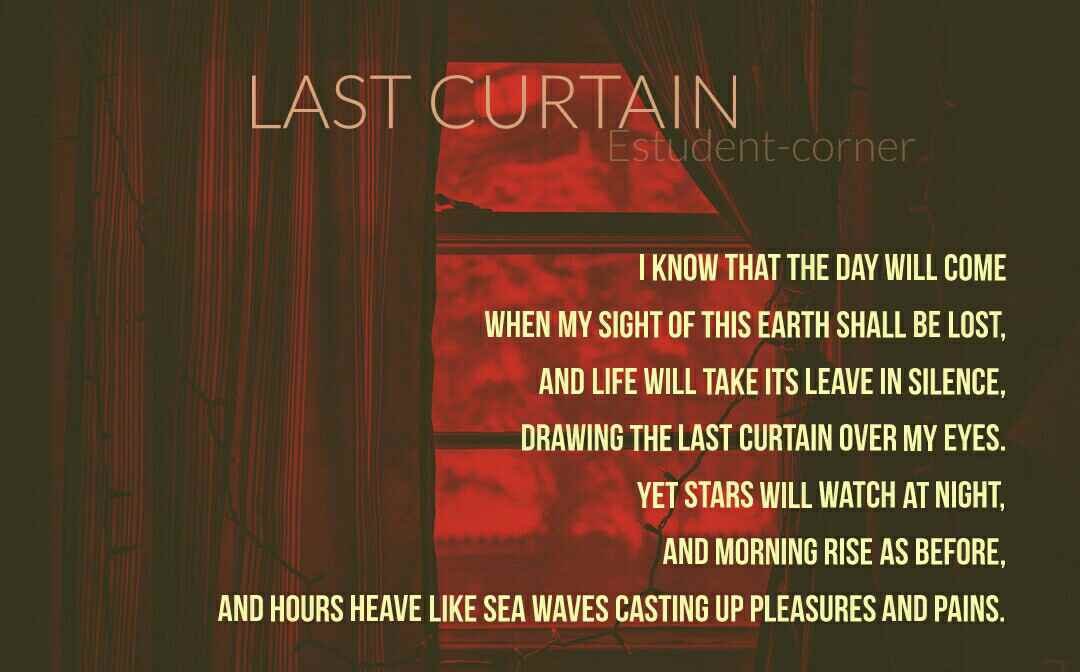 last curtain