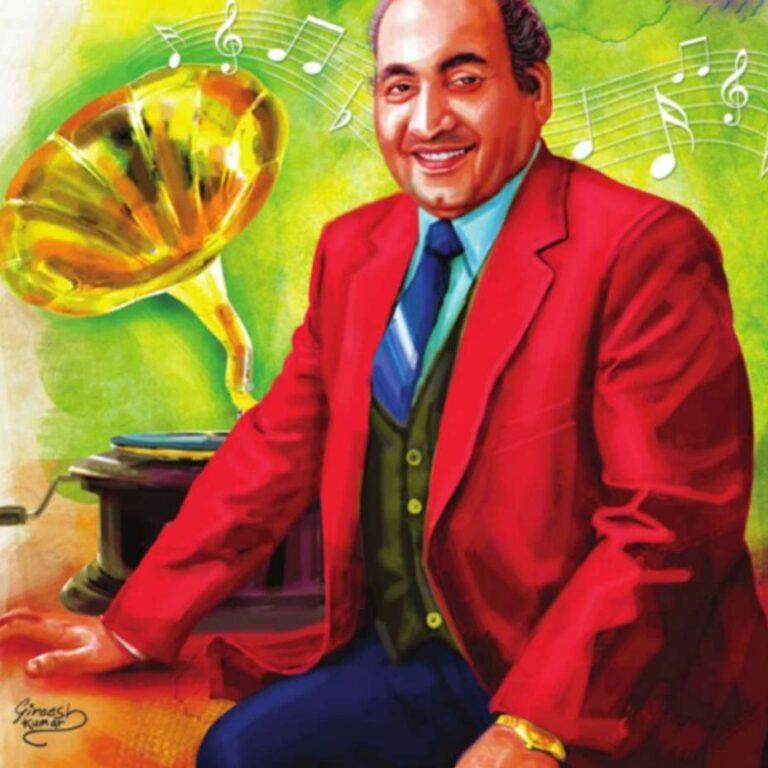 Mohd Rafi art